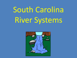 South Carolina River Systems