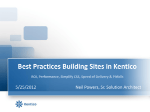 Best_Practices_When_Moving_Into_Kentico_And_Save_Money