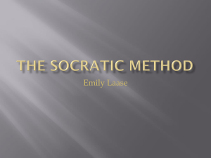The Socratic Method - teaching21stcenturyskills