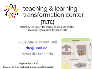 TLTC - University of Maryland