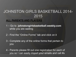 File - JOHNSTON GIRLS BASKETBALL