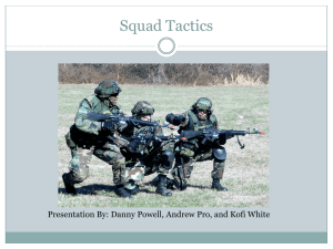 Squad Tactic Formations