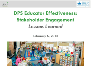 DPS Stakeholder Engagement Toolkit