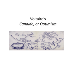 Voltaire`s Candide
