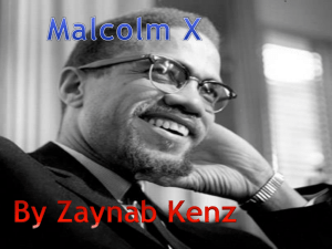ZAYNAB homework malcolm x - Dynamic Citizens Of Europe