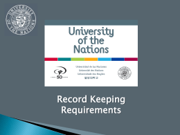 UofN Records