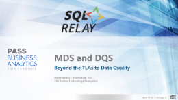 Neil Hambly - MDS and DQS