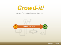 Crowd-it!