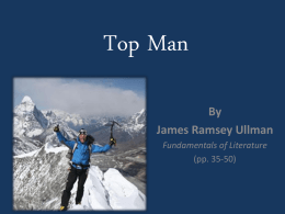 """Top Man"" Powerpoint"
