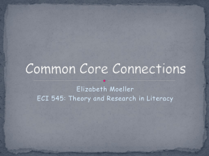 Common Core Connections
