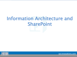 sharepoint-information-architecture