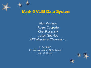 Update on Mark 6 VLBI Data System