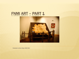 FNMI Art Part 1 - Pre-Contact