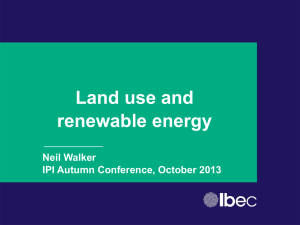 Land Use and Renewable Energy – IPI conference - rev1