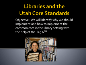 Libraries and the Common Core