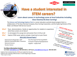 Flyer update – Stem Explorer