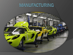 Manufacturing PP
