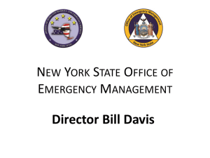nys homeland security strategy by bill davis - Long Island