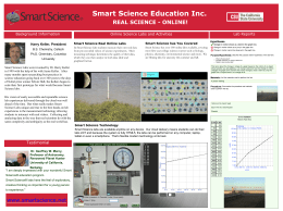 Smart Science Education Inc. REAL SCIENCE