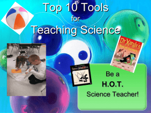 Top 10 Tools for Teaching Science