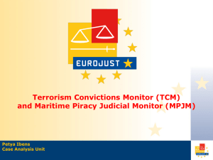 and Maritime Piracy Judicial Monitor