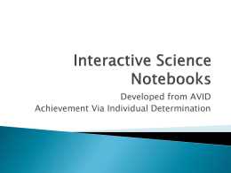Interactive-Science-Notebooks