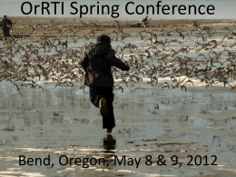 OrRTI Spring Conference - OrRTI - Oregon Response to Intervention