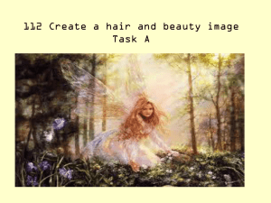 112 Create a hair and beauty image