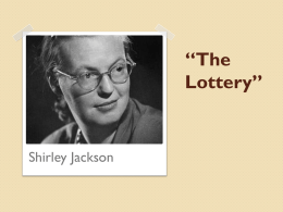 The Lottery Notes