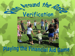 Verification Tracking Flag V3 – Child Support Paid