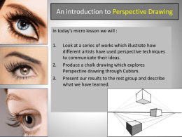 Perspective Drawing - British Academy Wiki