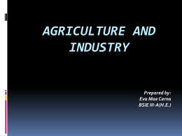 Agriculture and Industry.eva
