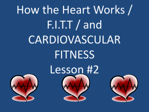 Active Health Lesson 2 – Heart and FITT (PowerPoint)