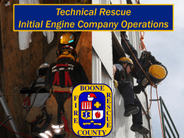 Technical Rescue PowerPoint