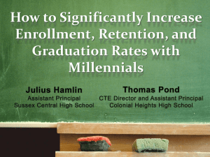 How to Significantly Increase Enrollment, Retention, and Graduation