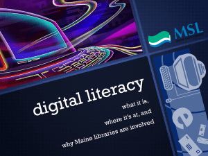 Digital Literacy as PowerPoint