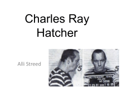 3Charles Ray Hatcher PPT