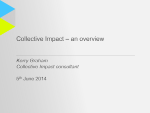 Kerry Graham Collective Impact consultant