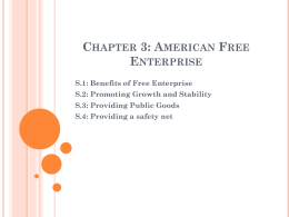 Chapter 3: American Free Enterprise