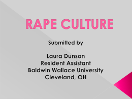 Rape Culture - Reslife.net