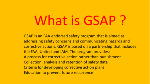 What is GSAP? click here to see LL811 Safety Page!!!