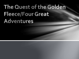 The quest of the golden fleece/four great adventures