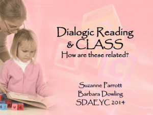 What is Dialogic Reading?