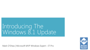 Introducing the Windows 8.1 Update June 2014