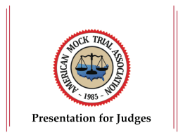 Judges` PowerPoint
