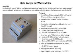 info for Data Logger