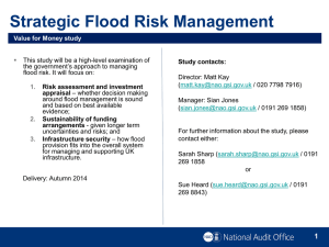 Strategic Flood Relief Management