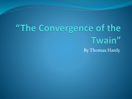 The Convergence of the Twain