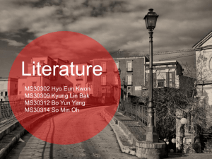 Literature - WordPress.com