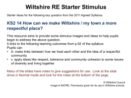 How can we make Wiltshire a more respectful